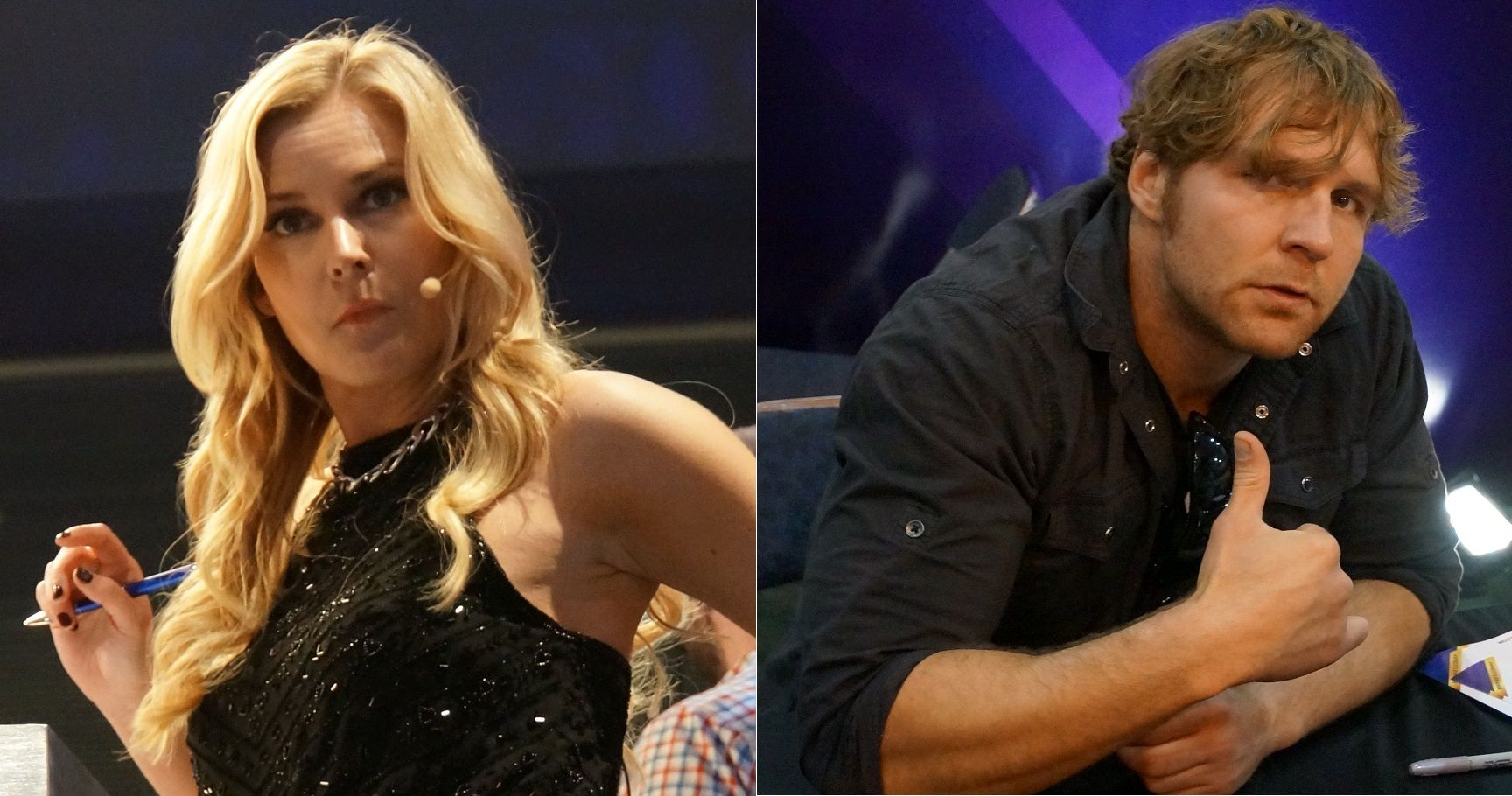 Dean Ambrose girlfriend, Renee Young, Renee Young married, Renee Young ...