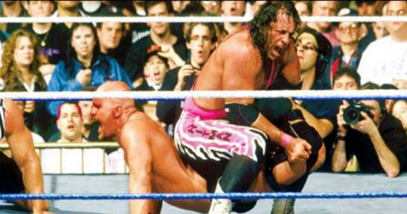 wrestling bloodiest matches history