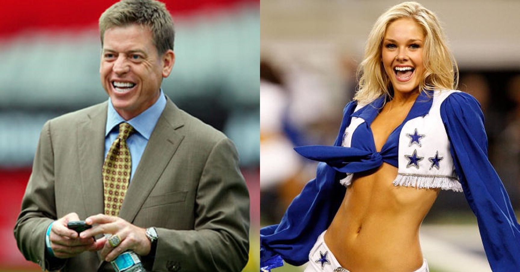 Can cheerleaders dating nfl players