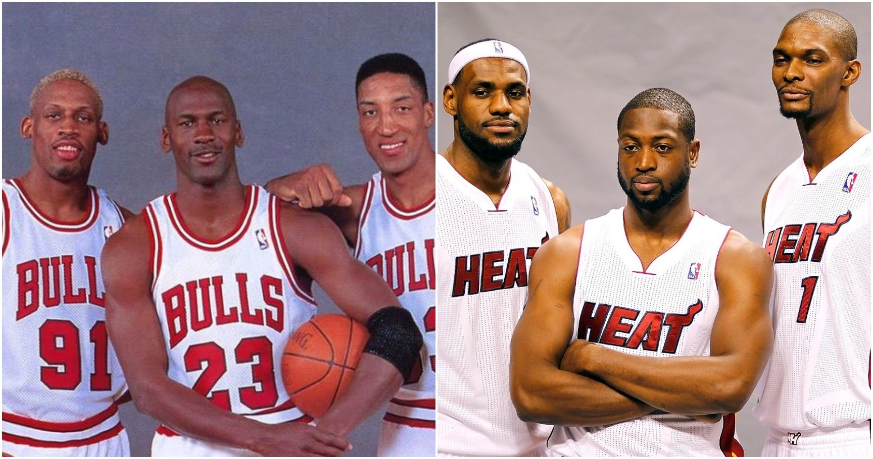 Top 15 Best Starting Lineups In NBA History