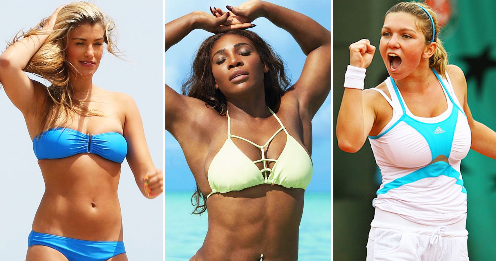 Real Or Fake 15 Female Tennis Players With The Hottest -3213