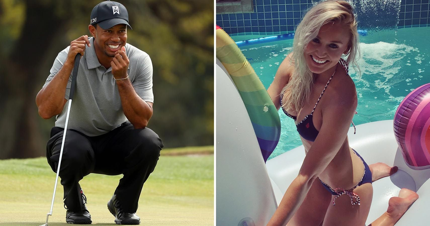 hot female golfers tiger woods would have sex with