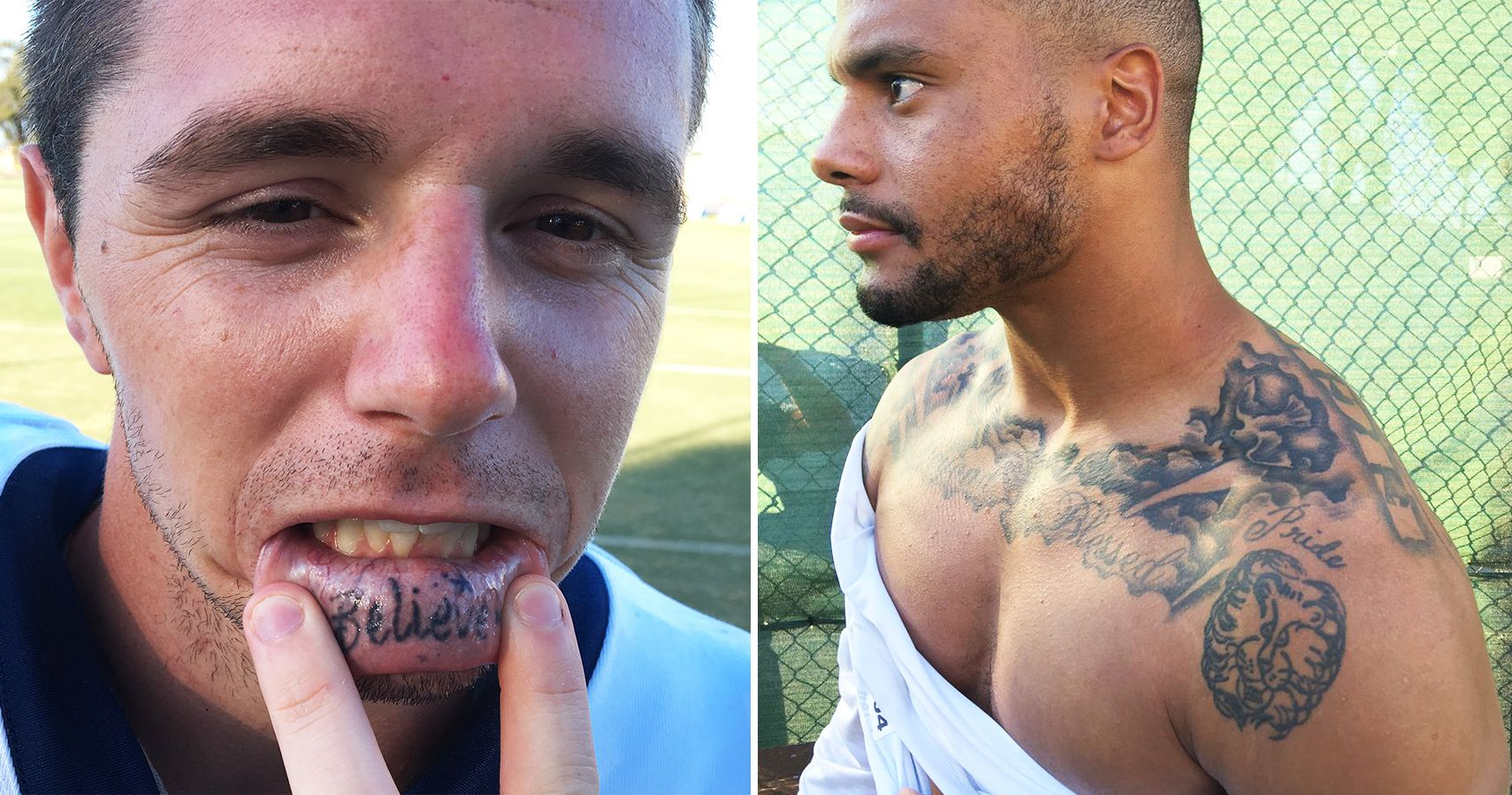 Nfl Tattoos The Worst And B...