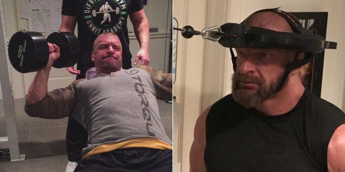 Triple H Does To Stay Healthy