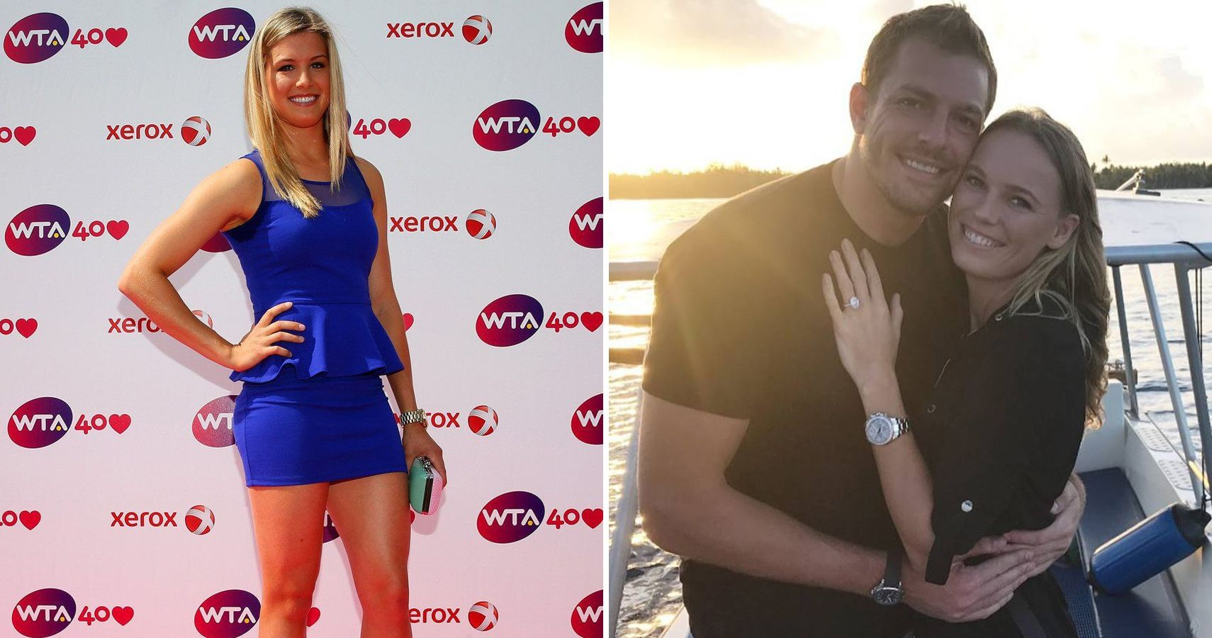 Famous Five Times tennis stars tried dating other sportsmen