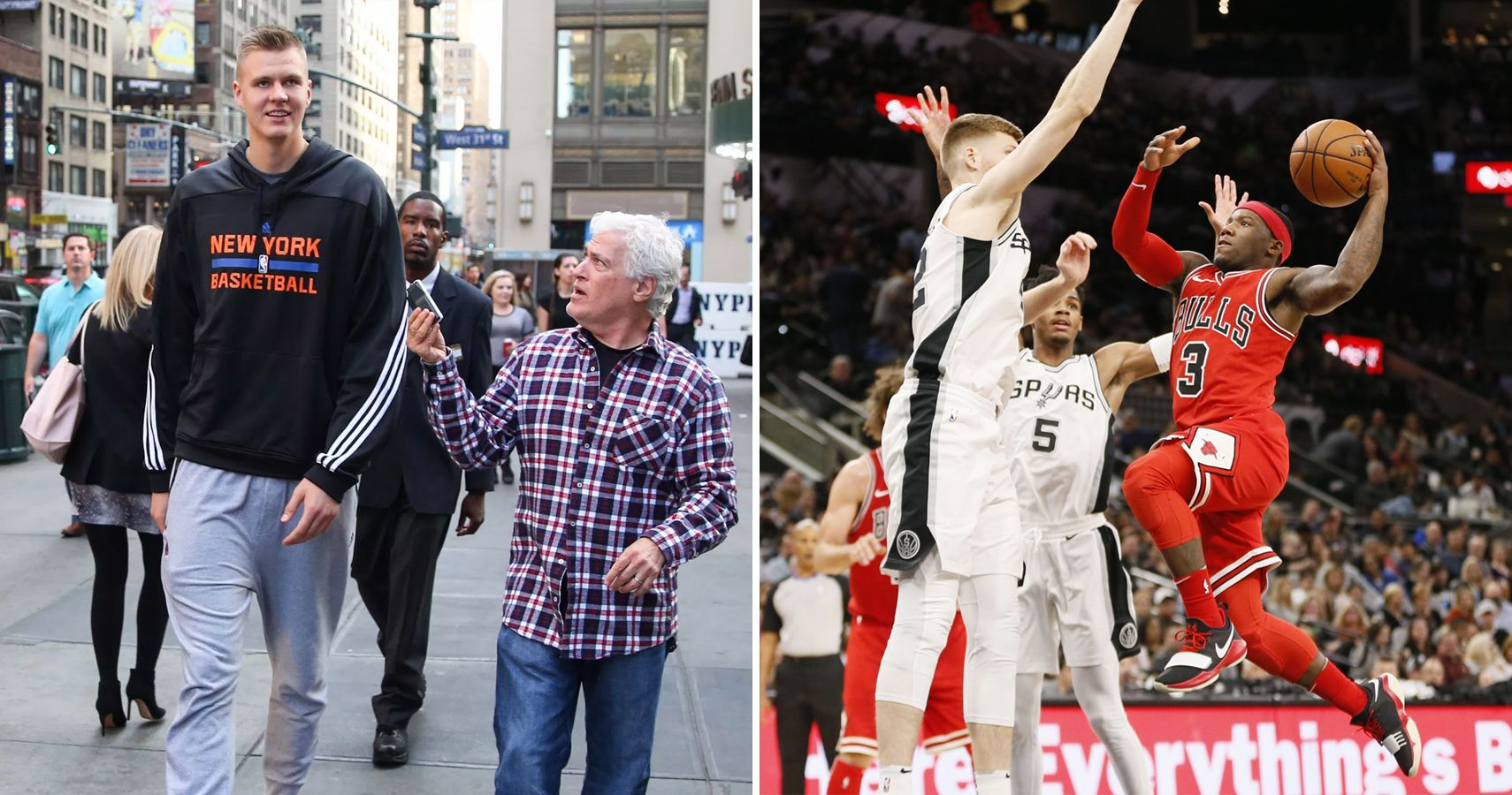 And NBA Tallest Players 10 The Shortest  Today 10