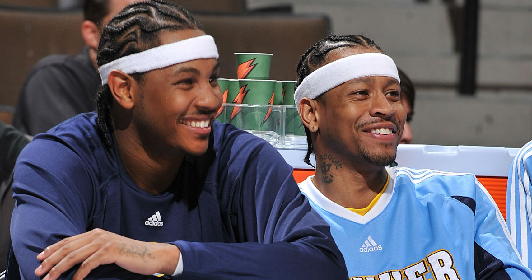 e35ba9bb6ccd Allen Iverson Doesn t Think Carmelo Anthony Should Retire Following Rockets  Disappointment
