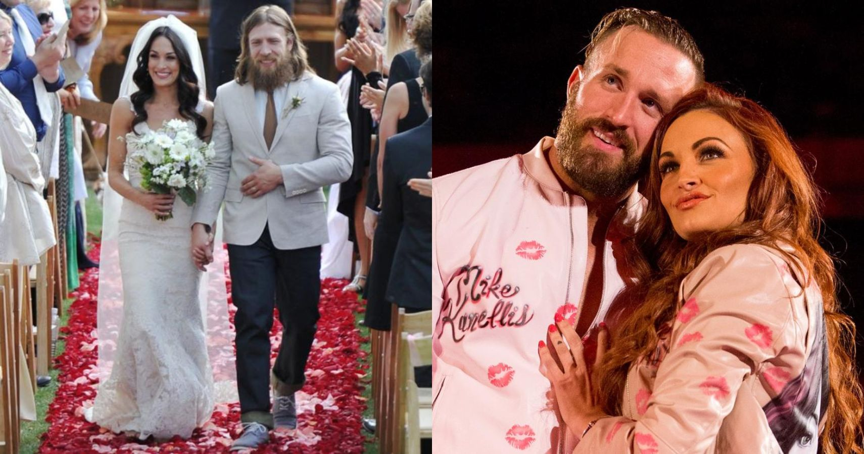 10 real life WWE couples outside the realm of Total Divas