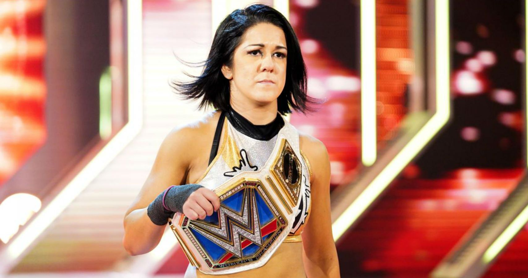 Hi, My Name is: Bayley - Cageside Seats