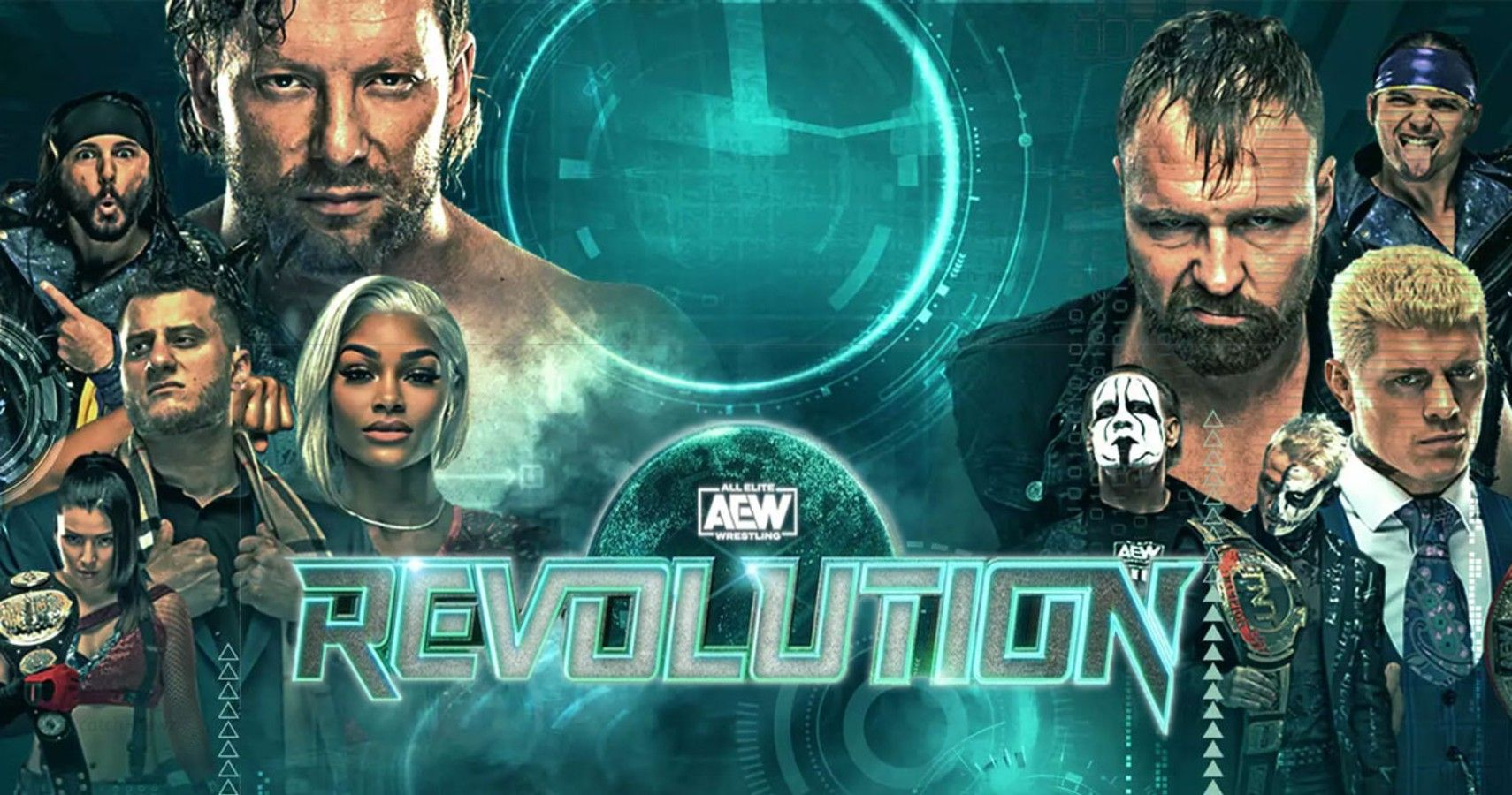 Watch AEW Revolution 2021 3/7/21