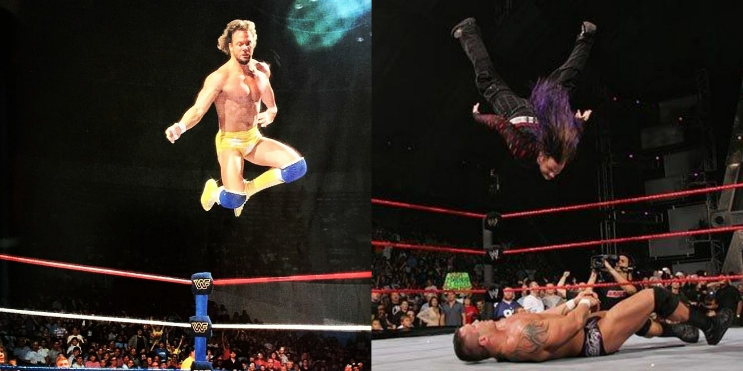 10 High Flying Wrestling Moves That Were Ahead Of Their Time