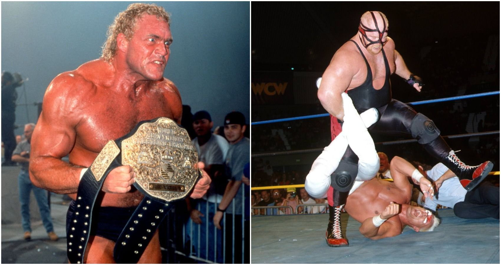 5 Released WCW Wrestlers Who Came Back Better Than Ever (& 5 Who Never Returned)