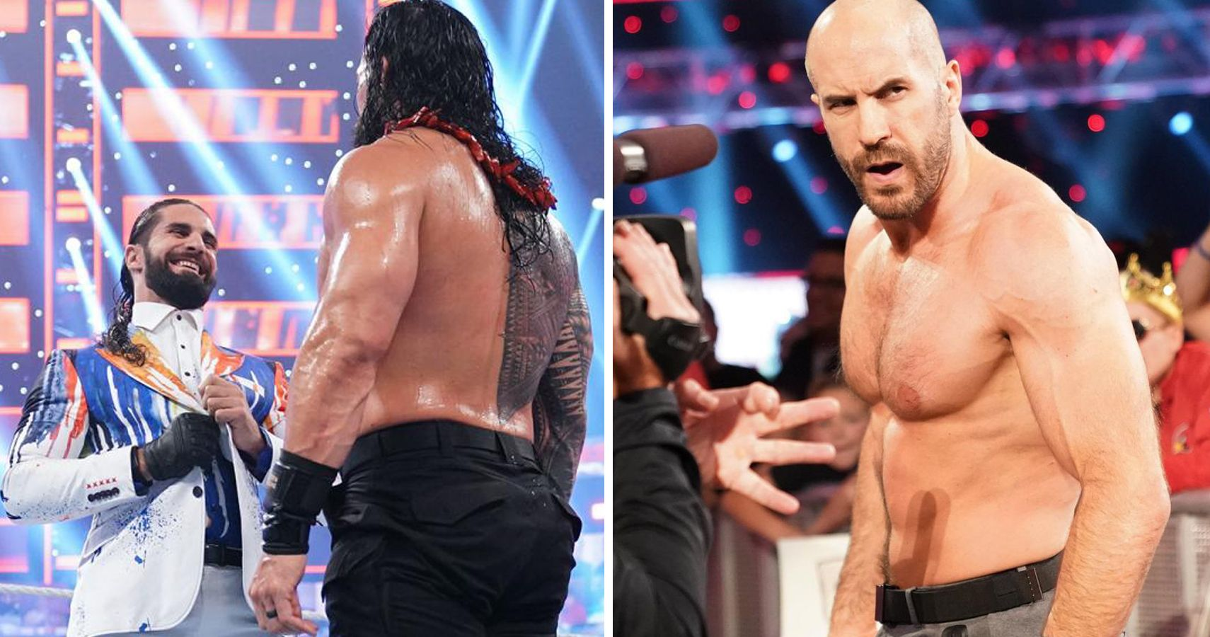 Rumored WWE Backstage Plans For Rollins vs. Reigns Hint Cesaro's Push Already Over