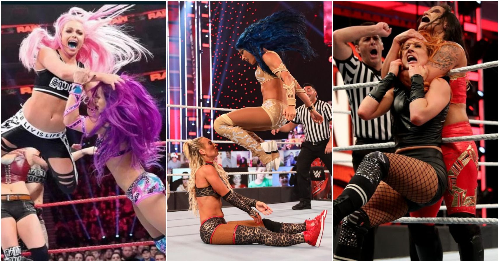 The 10 Best Women On The Current WWE Roster, Ranked By In-Ring Skills