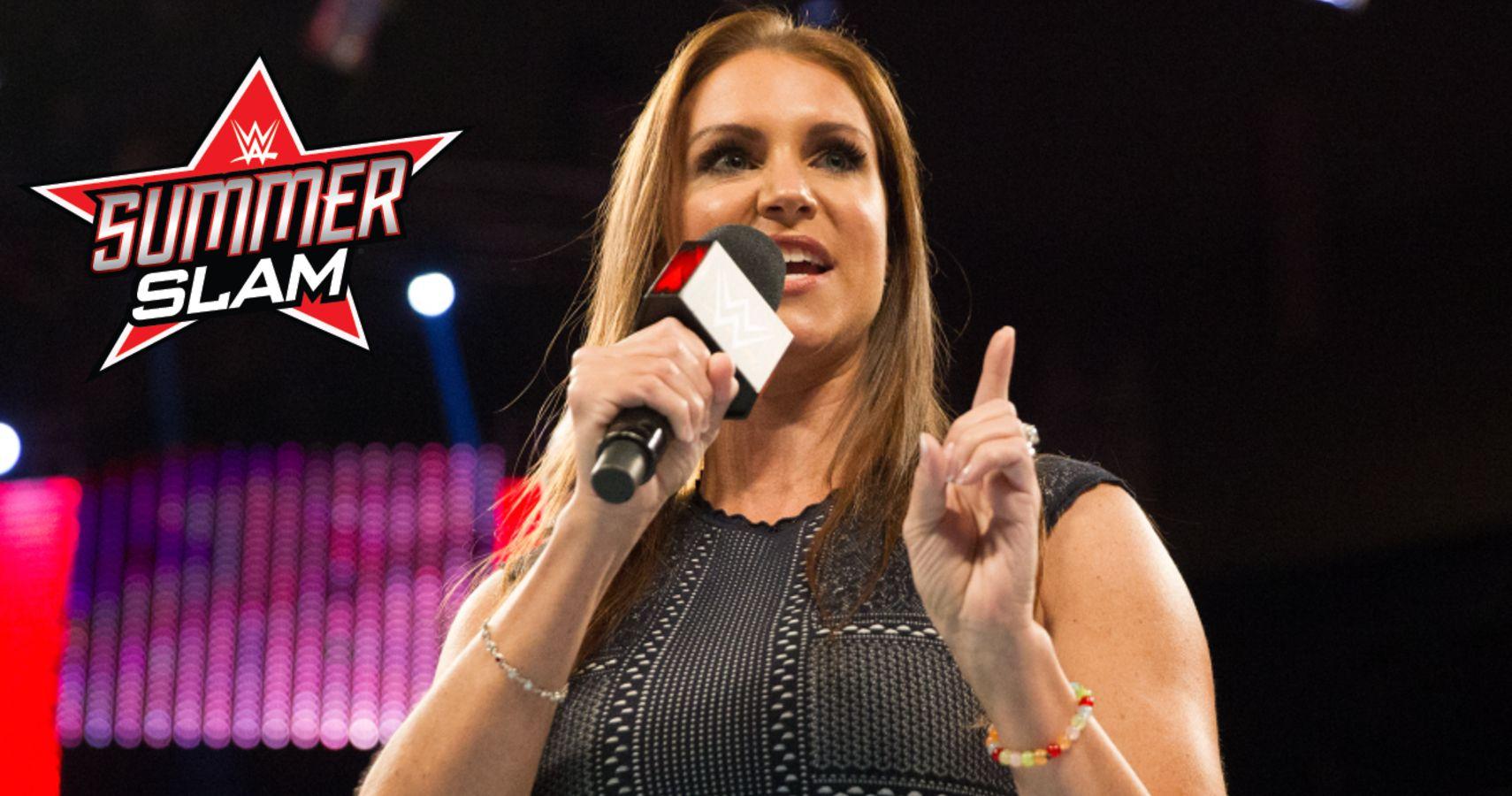 Stephanie McMahon Promises Surprises For SummerSlam