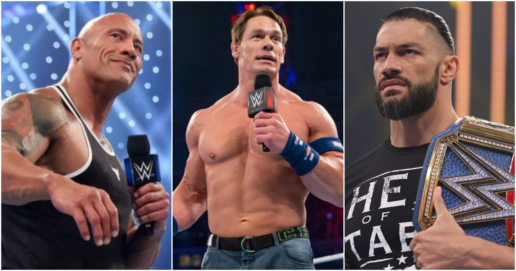 Roman Reigns Issues A Warning To The Rock And John Cena