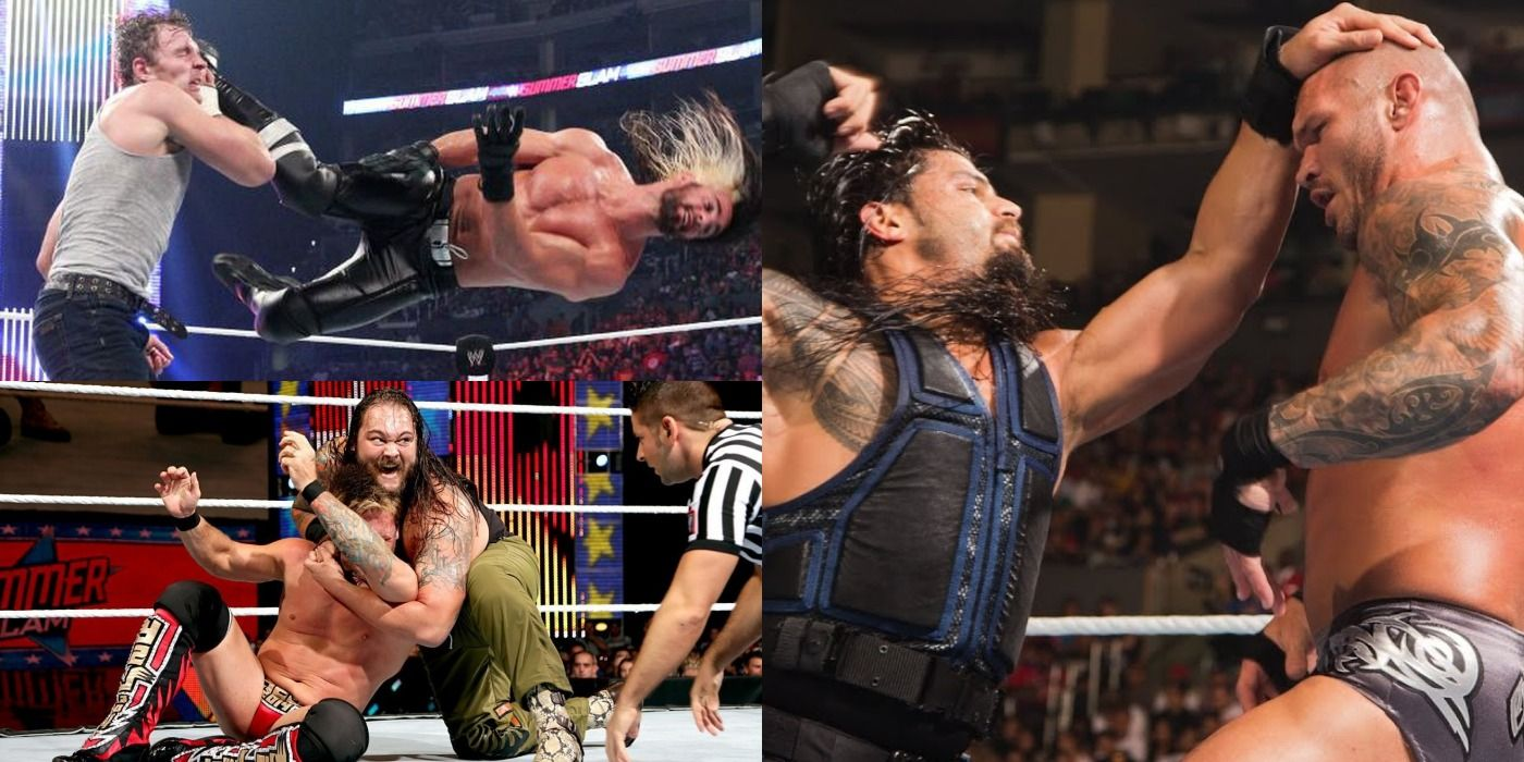 SummerSlam 2014: Every Match Ranked From Worst To Best