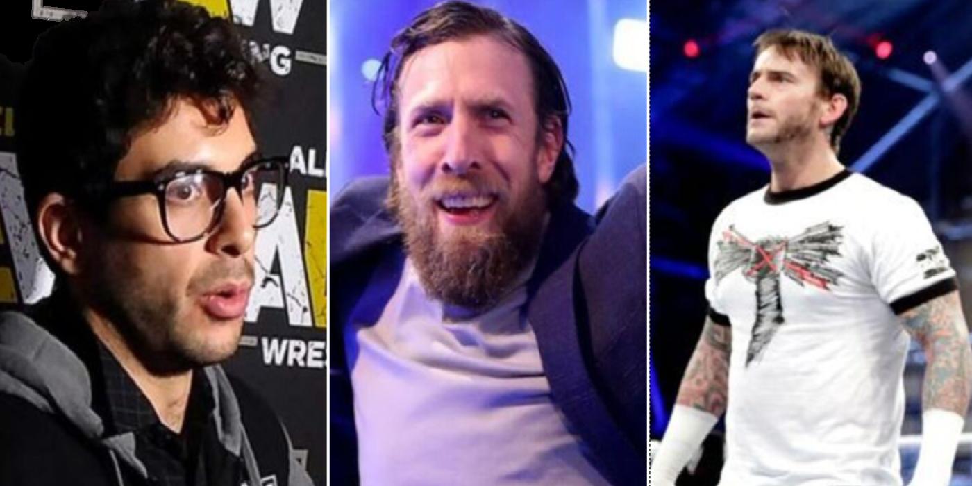 Tony Khan Comments On CM Punk & Daniel Bryan AEW Rumors