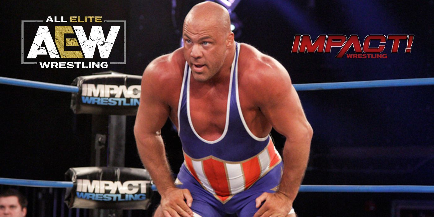 Kurt Angle Turned Down Offers From AEW And IMPACT Following Retirement