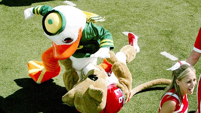 The Wildest Mascot Fights Ever